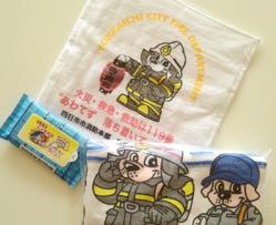 四日市市消防本部様キャラクターグッズ【5名様】